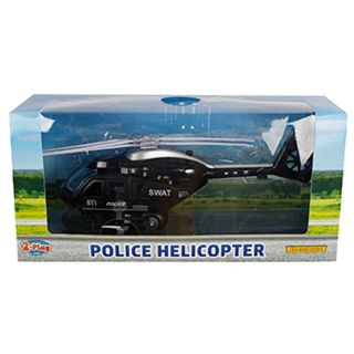 2-Play Helicopter Police USA with Light and Sound