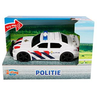 2-Play Police car NL with Light and Sound 18.5 cm
