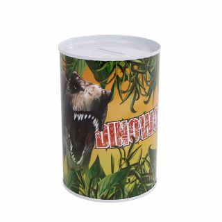 Money box Dinoworld Metal