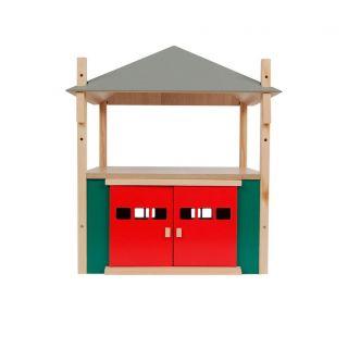 Kids Globe Wooden Haystack with Storage 1:32