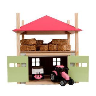 Kids Globe Wooden Haystack with Storage 1:32 - Pink