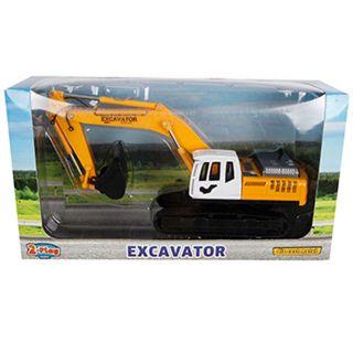 2-Play Die-cast Excavator, 22cm
