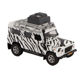 Kids Globe Die-cast Land Rover Safari with Light and Sound