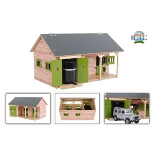 Kids Globe Horse Stable with 2 Boxes and Storage 1:32