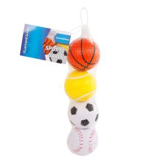 Sports balls Small, 4pcs.