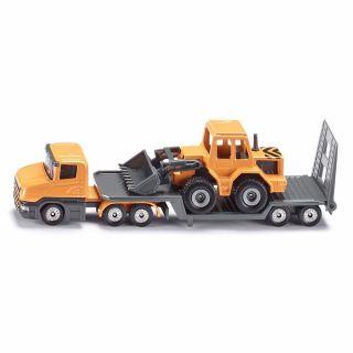 1616 SIKU low loader with front loader 1:64