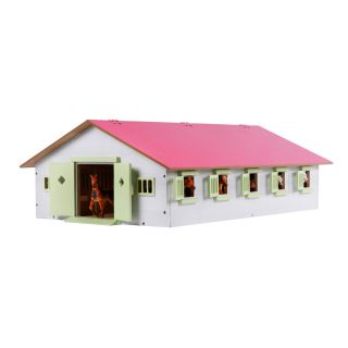 Horse stable with 9 boxes, 1:32