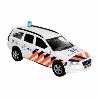 Police Volvo v70 & Light Sound