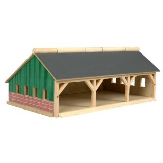 Kids Globe Agricultural Shed 3-compartment Small, 1:87