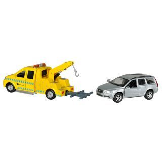 Towing car with Volvo V70