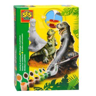 SES Moulage et peinture - T-rex