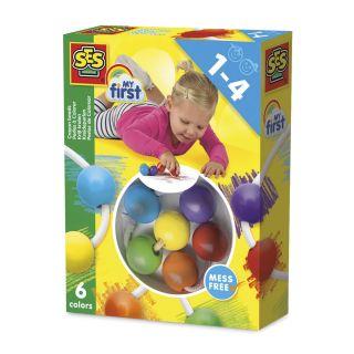 SES My first - Colorier avec des crayons en boules