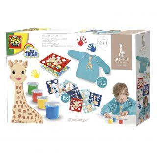 SES Sophie la girafe - Kit de peinture au doigt