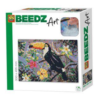 SES Beedz art - Toucan