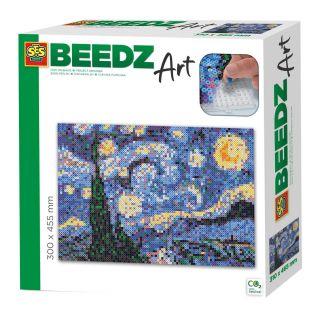 SES Beedz art - Van Gogh - La Nuit étoilée