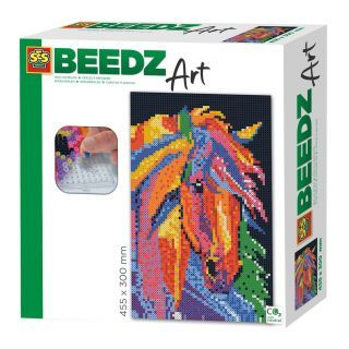 SES Beedz Art - Horse fantasy