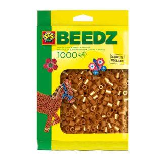 SES Perles à repasser 1000 Brun