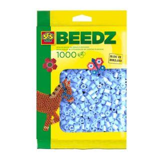 SES Perles à repasser 1000 Bleu Clair