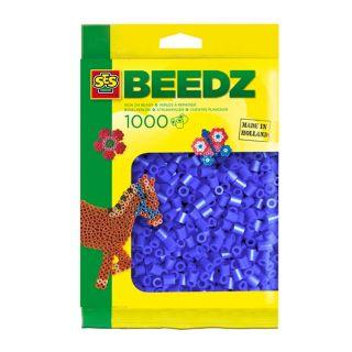 SES Perles à repasser 1000 Bleu Foncé