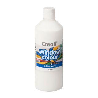 Creall Window Paint White, 500ml