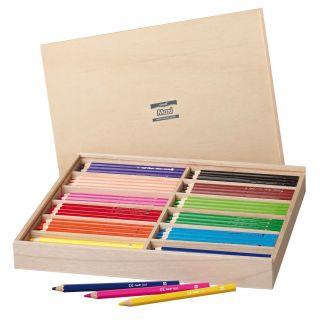 Creall Maxi Colored Pencils in Storage Box, 147 pcs.