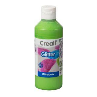 Creall Glitter Paint Green, 250ml