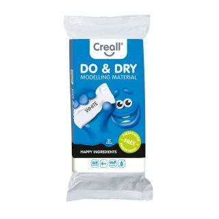 Creall Modeling Clay Preservative Free White, 500gr.