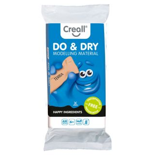 Creall Modeling Clay Preservation-Free Terra, 1000gr.