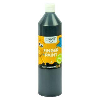 Creall Finger Paint Preservative Free Black, 750ml