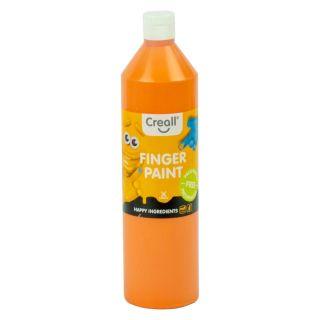 Creall Finger Paint Preservative-Free Orange, 750ml