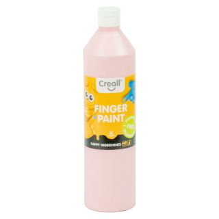 Creall Finger Paint Preservative Free Pink, 750ml