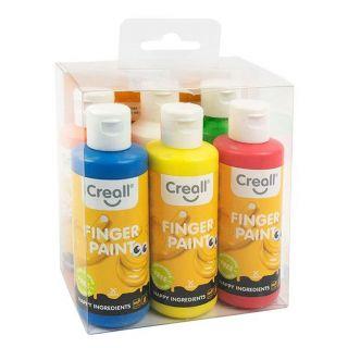 Creall Finger Paint, 6x80ml