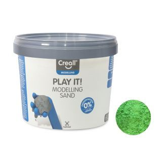 Creall Play It Play sand Green, 750gr.