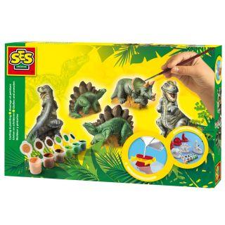 SES Moulage et peinture - Dinosaures
