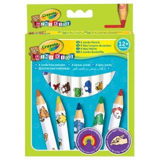 Crayola Mini Kids - Thick Colored Pencils, 8pcs.