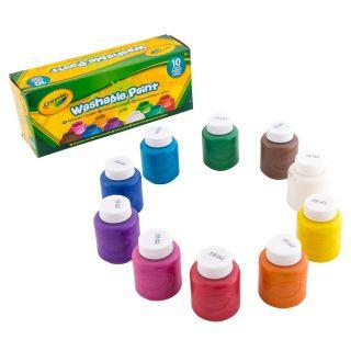 Crayola Jars with Washable Paint, 10pcs.