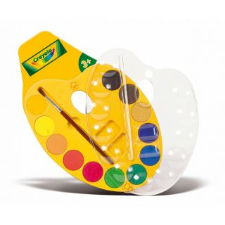Crayola Painter's palette with Watercolor