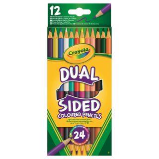 Crayola Duo Colored pencils, 12pcs.