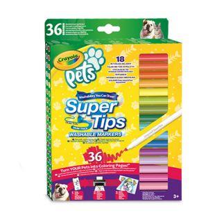 Crayola Pets Felt-tip pens with Superpoint, 36pcs.
