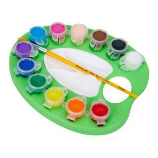 Crayola Paint Palette, 12st.