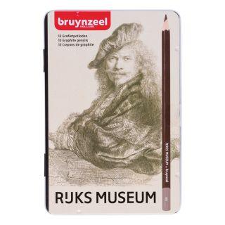 Bruynzeel Rijksmuseum Graphite Pencils, 12st.