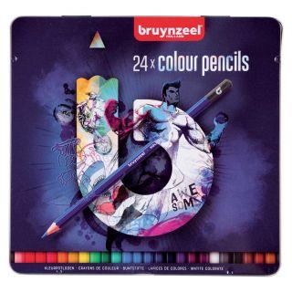 Bruynzeel Sport Tin Colored pencils, 24st.