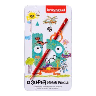 Bruynzeel Super Color Pencils, 12pcs.