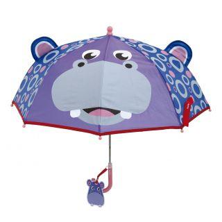 Fisher Price Umbrella - Hippopotamus, Ø 70 cm