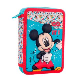 Filled pencil case Mickey Mouse