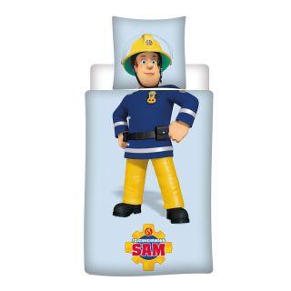 Duvet cover Fireman Sam, 140x200cm