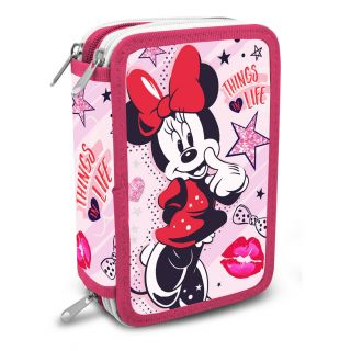 Minnie Mouse 3-compartment Filled Pouch