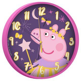 Wall clock Peppa Pig