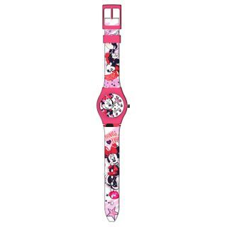 Minnie Mouse watch in metal box