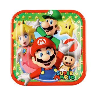 Super Mario Plate Cake, 8pcs.
